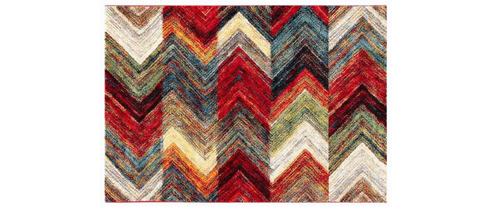 Tappeto di design multicolore 160 x 230 cm CHEROKEE