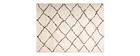 Tappeto in polipropilene crema 120x170cm DAHRA