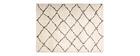 Tappeto in polipropilene crema 160 x 230 DAHRA