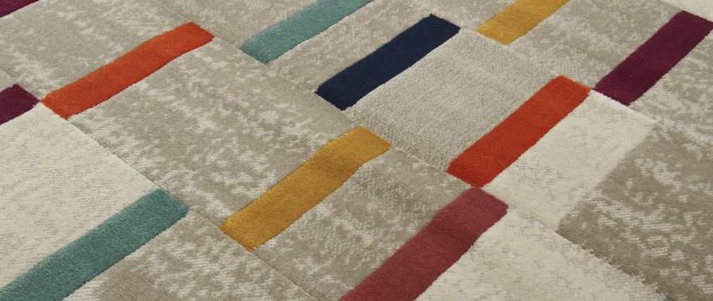 Tappeto multicolore 160 x 230 cm GIRARD