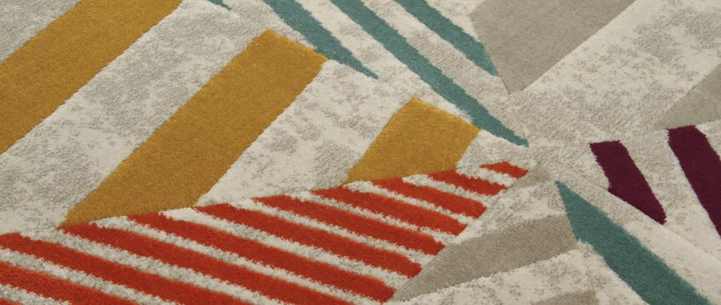 Tappeto multicolore 160 x 230 cm TRIANGLE