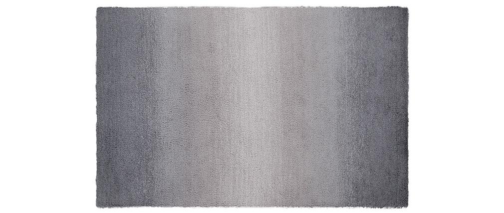 Tappeto sfumato grigio 200 x 300 cm SHADE