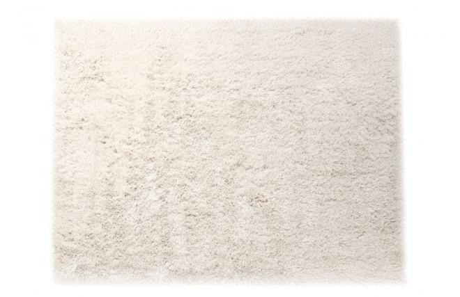 Tappeto shaggy bianco 160x230 cm UGO - Miliboo