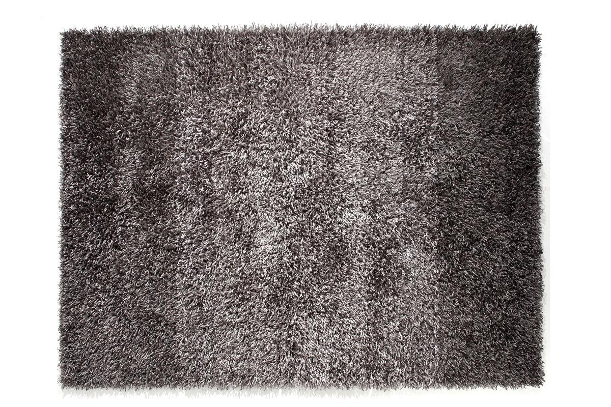 Tappeto shaggy grigio 160x230 cm zelio miliboo - Tappeto 160x230 ...
