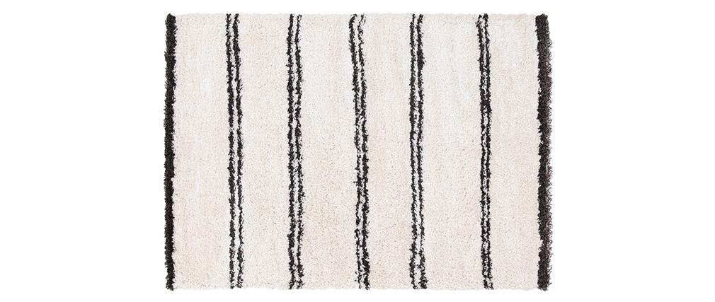 Tappeto stile berbero a righe 160 x 230 cm SOUK