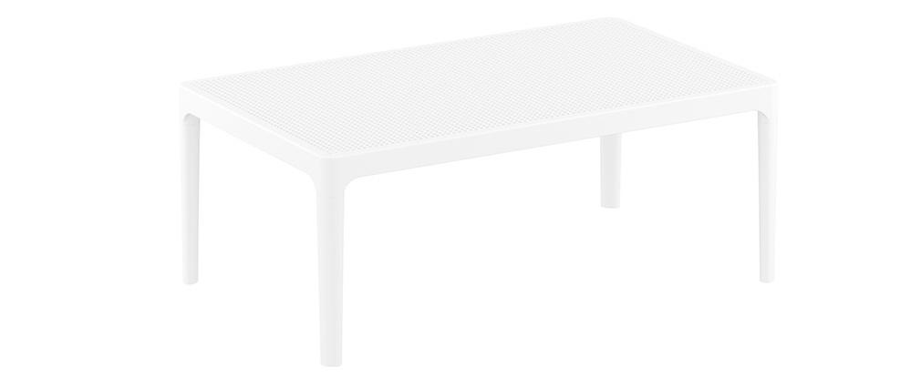 Tavolino basso design interno / esterno bianco OSKOL