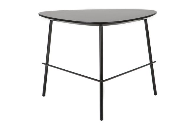 Tavolino basso di design in metallo colore: nero dimensioni: 60