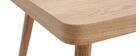 Tavolino basso in quercia chiara TOTEM
