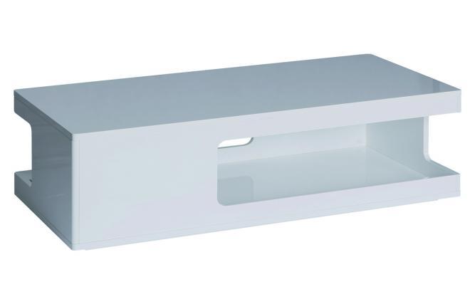 Tavolino Basso Bianco Da Soggiorno Legno 100x60 Cm Arredo Casa Country ...
