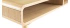 Tavolino basso scandinavo quercia chiara e grigia COPENHAGUE