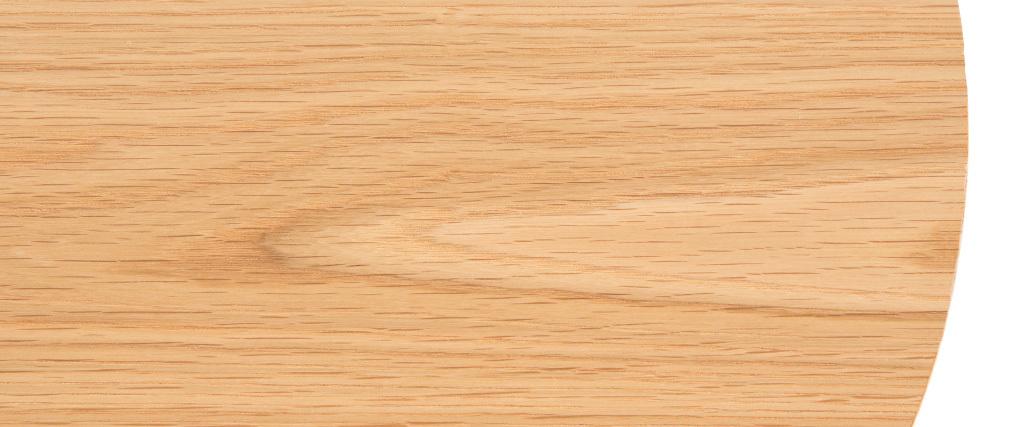 Tavolino complementare in legno e metallo 42 cm LACE