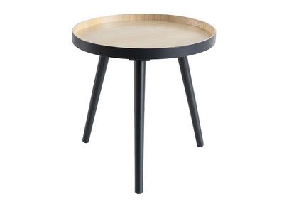 Tavolino complementare, scandinavo, in legno, colore: Antracite, modello: NINO