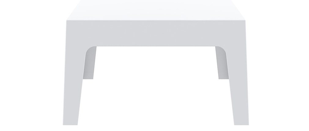 Tavolino da giardino design bianco LALI