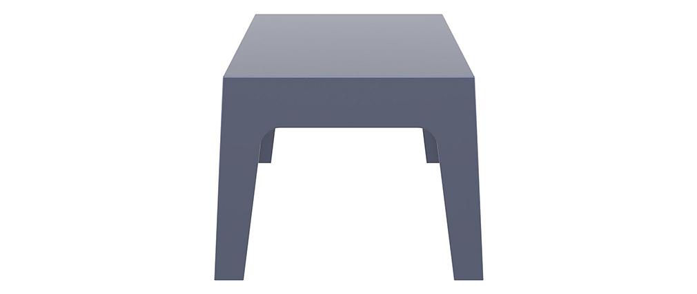 Tavolino da giardino design grigio fumo LALI