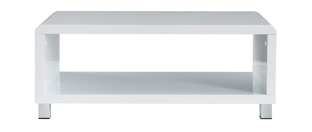 Tavolino design bianco ROXIE