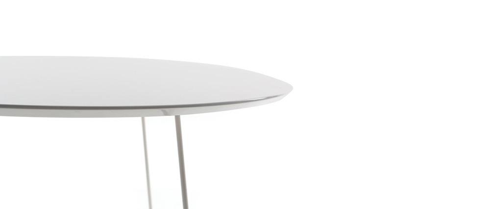 Tavolino design color bianco KALY