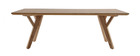 Tavolino design L120 cm frassino KYOTO