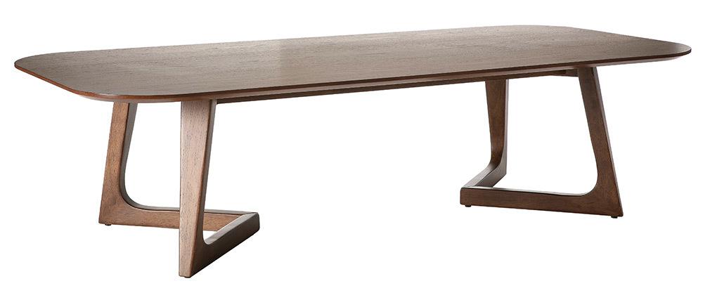 Tavolino design noce L150 cm JUKE
