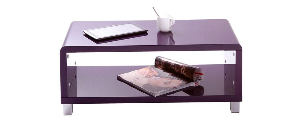Tavolino design viola ROXIE