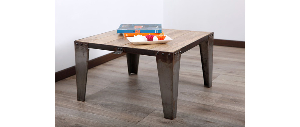 Tavolino quadrato INDUSTRIA
