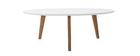 Tavolino rotondo 100cm bianco EKKA