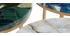 Tavolino rotondo in agata blu D40 cm PIETRA