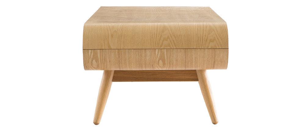 Tavolino scandinavo legno naturale BALTIK