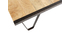 Tavolino stile industriale in legno massiccio INDUSTRIA