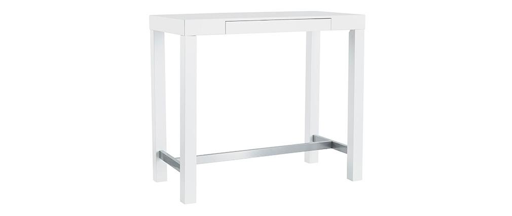 Tavolo da bar design laccato bianco opaco ALEX