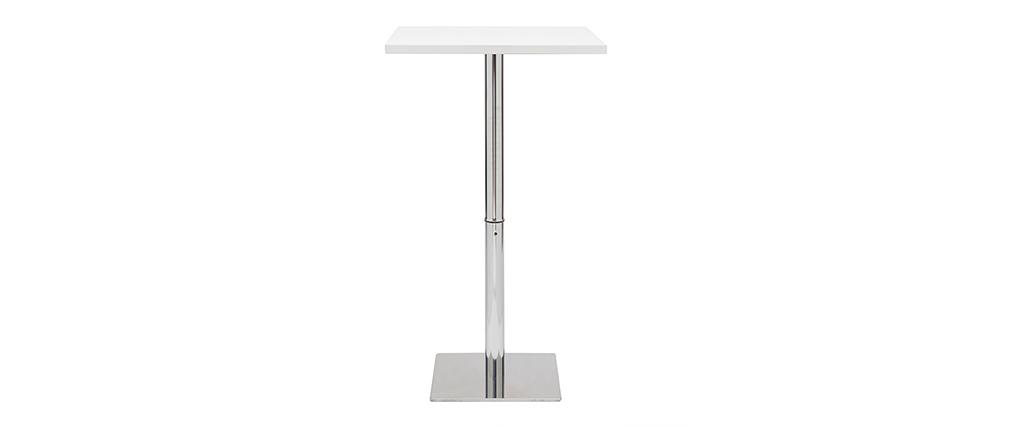 Tavolo da bar design quadrato bianco JACK