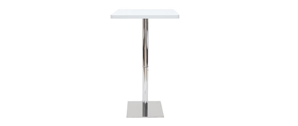Tavolo da bar quadrato colore bianco JACK