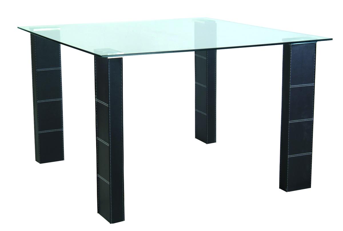 Tavolo da cucina sala da pranzo quadrato in pvc e piano - Tavolo da cucina in vetro ...