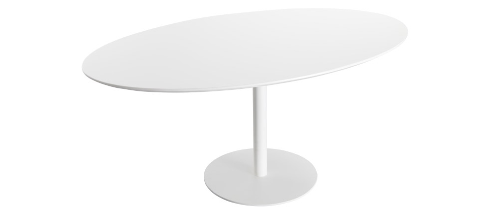 Tavolo da pranzo design bianco L169 HALIA