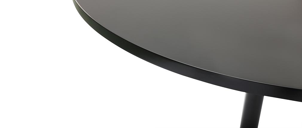 Tavolo da pranzo design D90 nero CALISTA