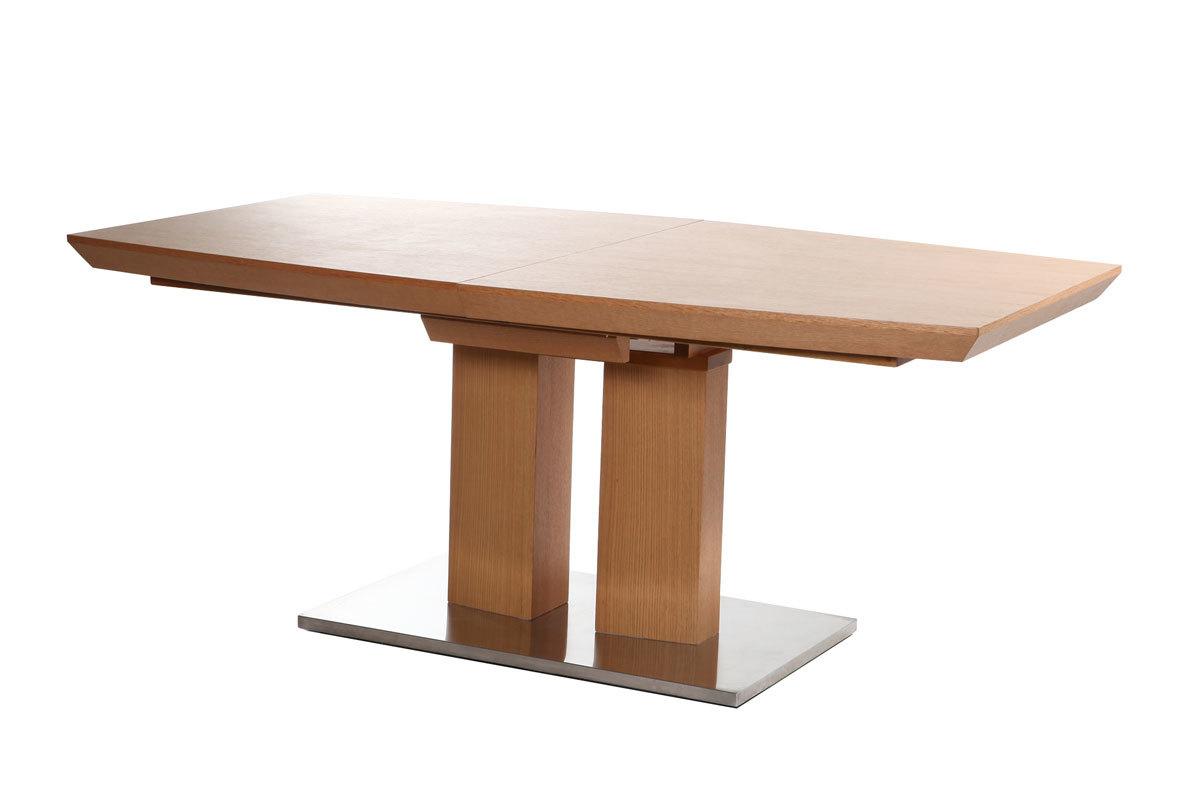 Tavolo Da Pranzo Design Estensibile In Frassino 180 200x90 PYLOS  #4A2A18 1200 800 Tavolo Da Pranzo A Ribalta