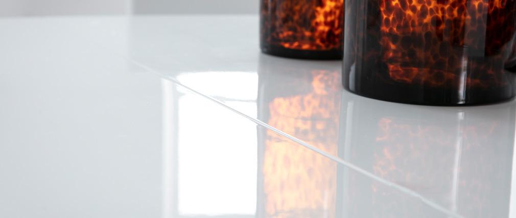 Tavolo da pranzo design extensibile bianco L160-200 CLEONES