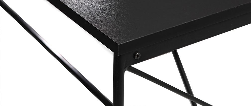 Tavolo da pranzo design grigio e nero WALT