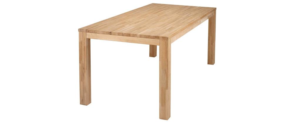 Tavolo da pranzo design in quercia 180x85 LUPA