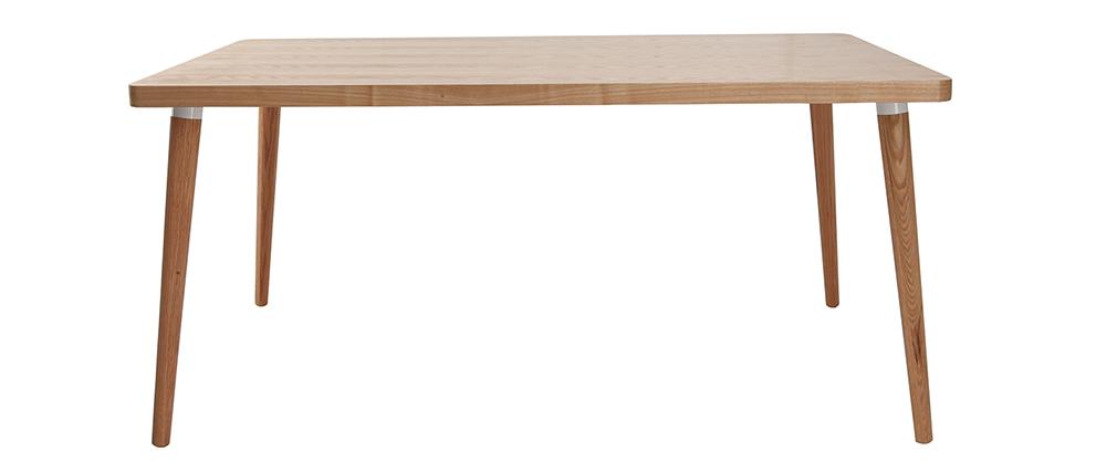 Tavolo da pranzo design in quercia chiara L160 TOTEM