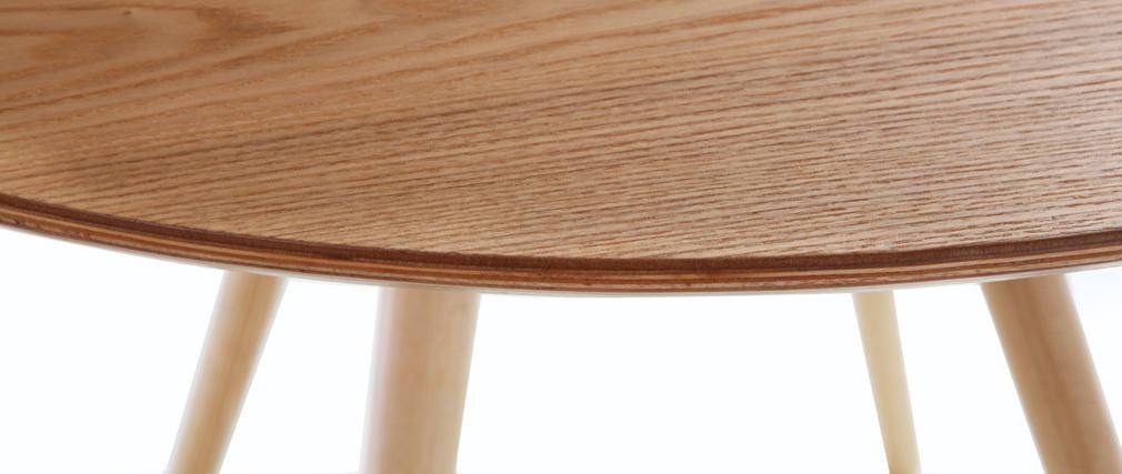 Tavolo da pranzo design rotondo frassino - ARTIK