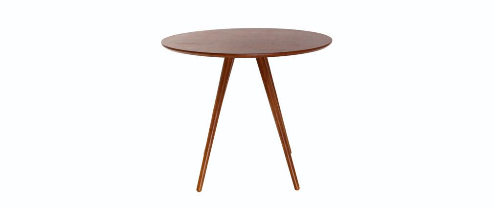 Tavolo da pranzo design rotondo noce D90 ARTIK