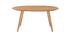Tavolo da pranzo design scandinavo ovale quercia MARIK