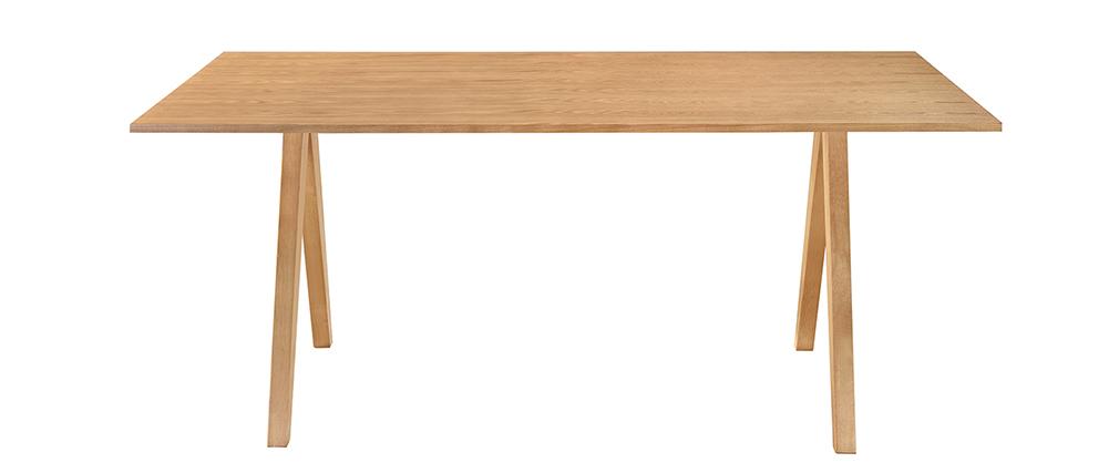 Tavolo da pranzo design scandinavo quercia DANA