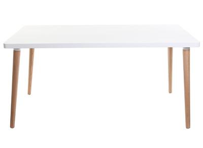 Tavoli da pranzo ogni forma e dimensione bianco miliboo - Tavolo scandinavo ...