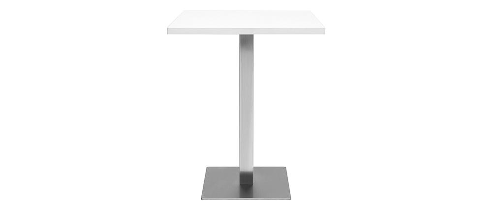 Tavolo da pranzo di design quadrato bianco JORY