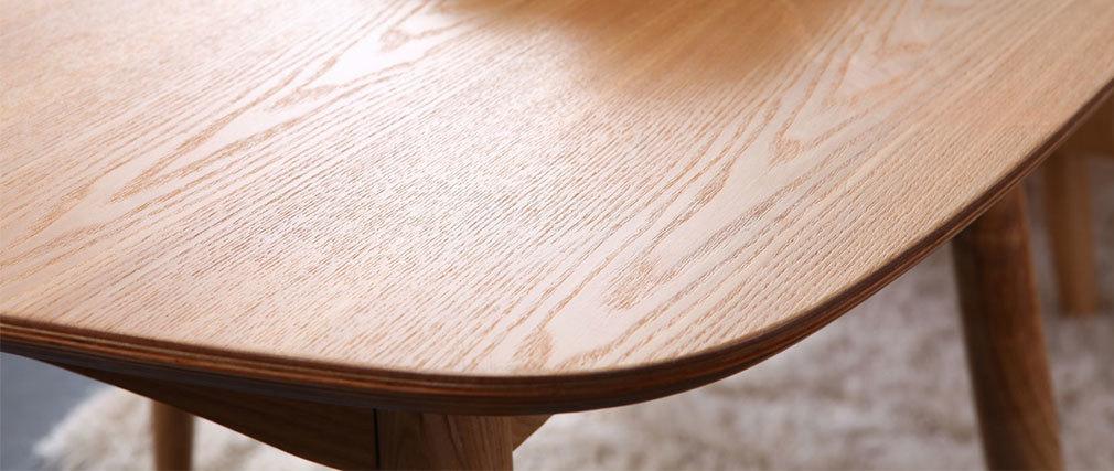 Tavolo da pranzo quadrato 90x90cm Frassino - BALTIK