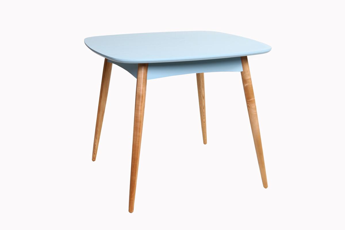 Tavolo da pranzo quadrato 90x90cm piedi in frassino - Tavolo da pranzo quadrato ...