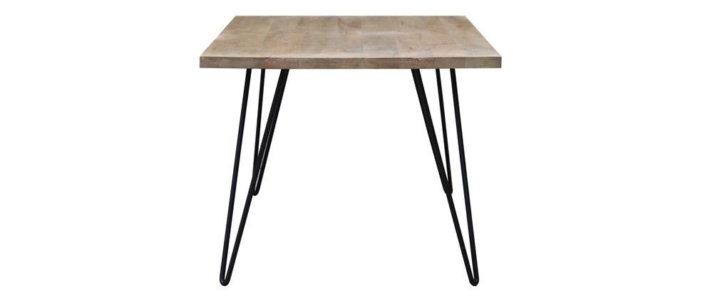 Tavolo da pranzo rettangolare mango L160 cm VIBES