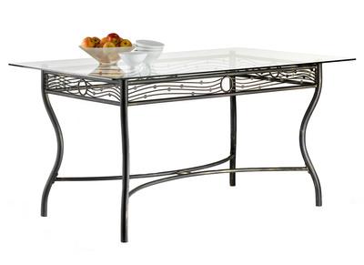 Saldi tavoli da pranzo ogni forma e dimensione miliboo - Tavoli da pranzo ferro battuto e vetro ...