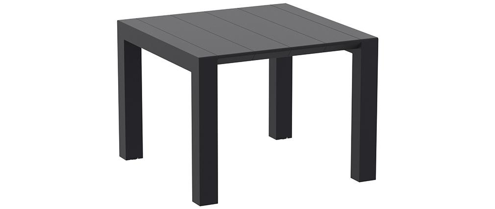 Tavolo estensibile da esterno nero L100-140 cm PRIMAVERA